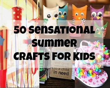 50 Sensational Crafts for Kids from Blissfully Domestic