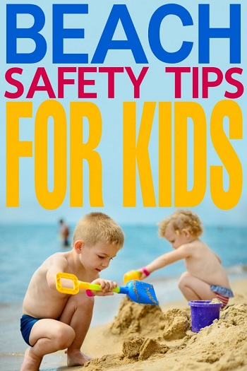 Beach Safety Tips for Kids from Frugal Mom Eh
