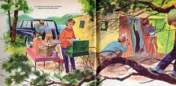 Camping with Kids from The Art of Manliness