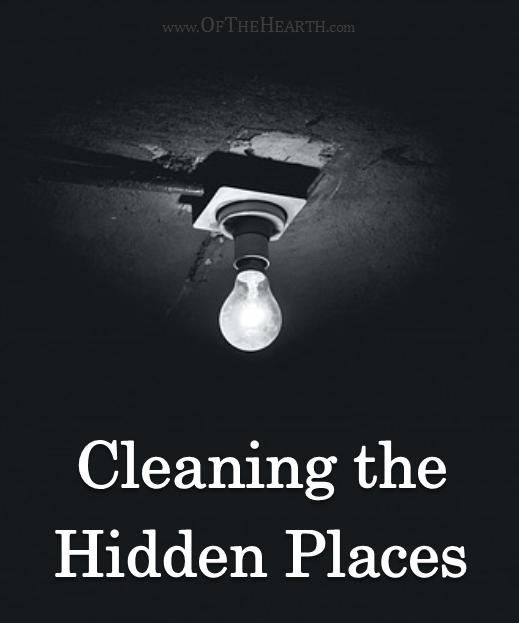 Cleaning the Hidden Places