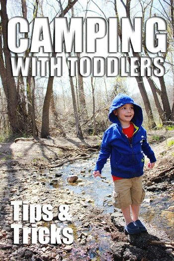 How to Survive the Weekend Camping with a Toddler from One Sweet Appetite