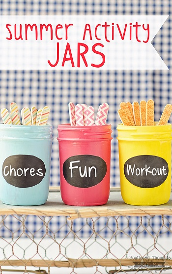 Summer Activity Jars from Scattered Thoughts of a Crafty Mom