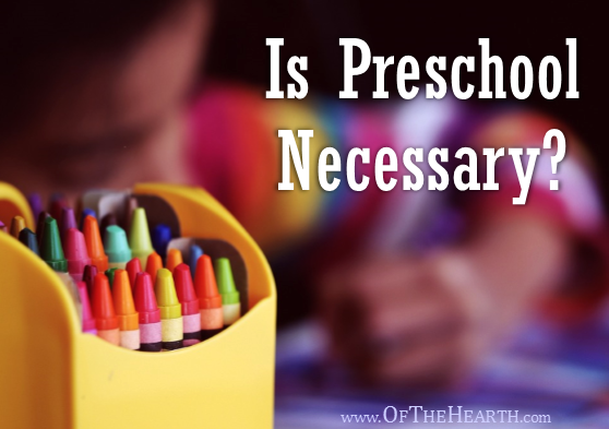 Is Preschool Necessary?