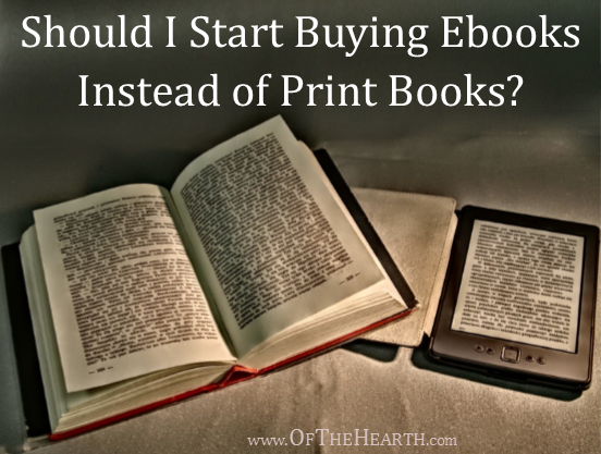 Is it time for you to start purchasing ebooks instead of print books? Here's a comprehensive look at how the two compare.