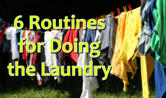 6 Routines for Doing the Laundry