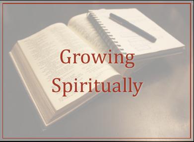 Growing Spiritually