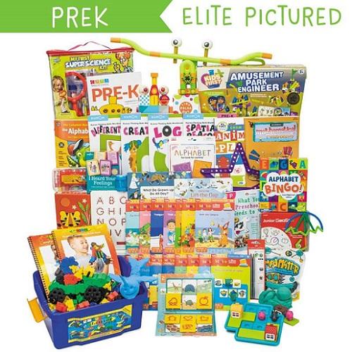 Timberdoodle 2017 PreK Elite Curriculum Kit