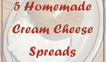 5 Homemade Cream Cheese Spreads