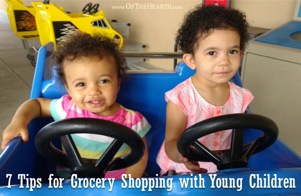 Though it can be challenging at times, grocery shopping with little kids can also be educational, fun, and productive. Here's how.
