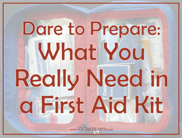 It's easy to supplement a preassembled kit or build your own from scratch in order to have a well-stocked first aid kit.