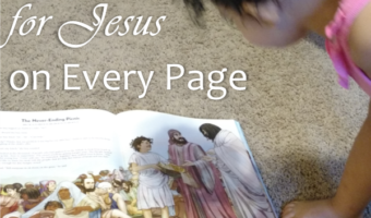 Looking for Jesus on Every Page