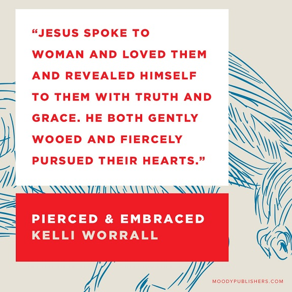 Quote from Pierced and Embraced