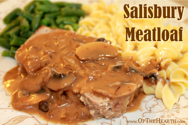 Get the classic flavor of Salisbury Steak in the convenience of a meatloaf! This hearty meal will satisfy everyone at the table with its savory flavor.