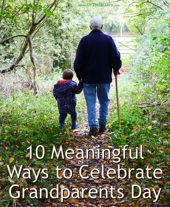 Here are 10 fun, meaningful ways for grandparents and grandkids to celebrate National Grandparents Day.