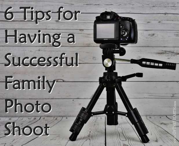 There are a number of simple things you can do to increase the chances that your upcoming family photo session is successful.