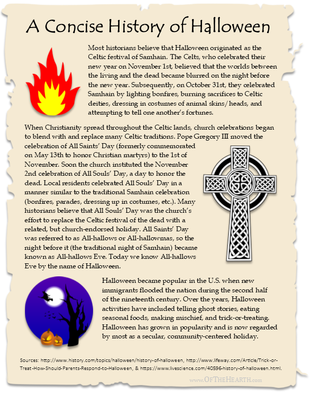 A Concise History of Halloween