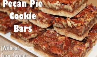 Pecan Pie Cookie Bars (Without Corn Syrup)