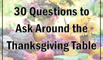 30 Questions to Ask Around the Thanksgiving Table
