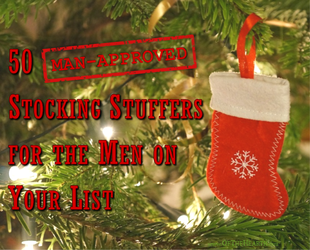 50 Man Approved Stocking Stuffers For The Men On Your List
