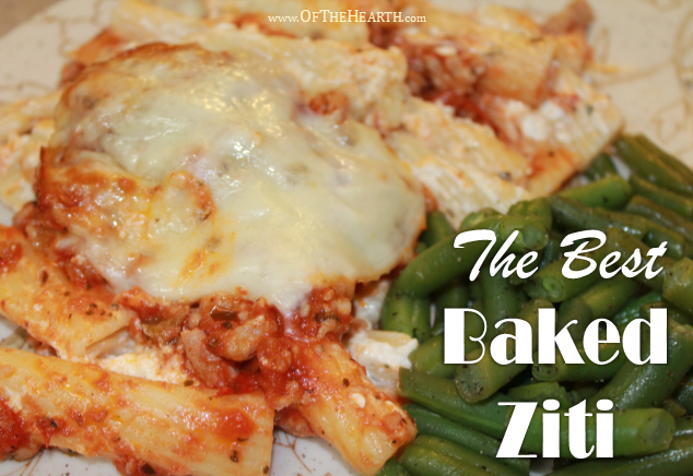 This easy-to-prepare Baked Ziti is hearty and flavorful. Its savory flavor makes it an instant favorite of everyone who eats it!