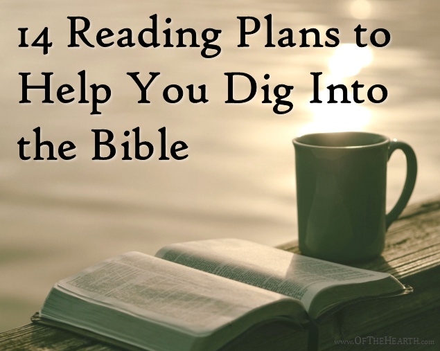 Reading the Bible is one of the best ways to grow in your faith. Here are 14 reading plans to guide you through the entire Bible in a year or two.
