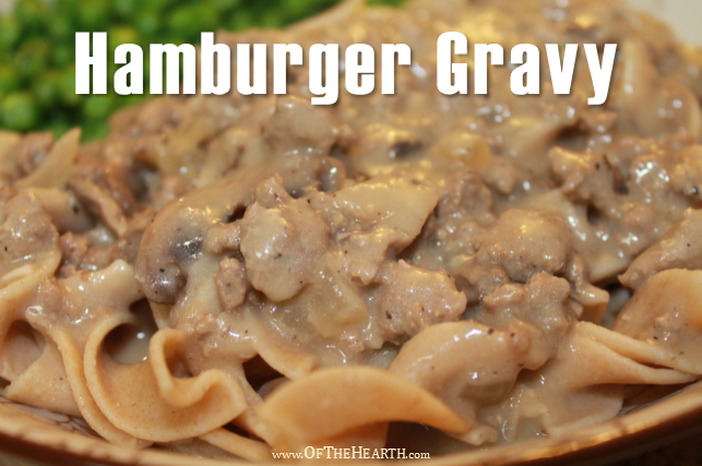 Create a hearty dinner by topping egg noodles or mashed potatoes with this easy-to-prepare Hamburger Gravy.
