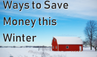 Ways to Save Money this Winter