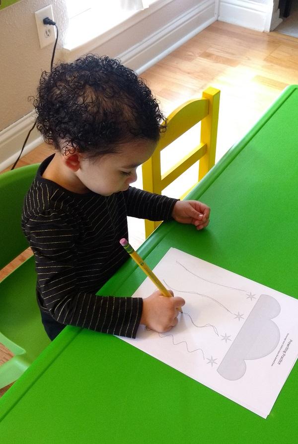 Winter Worksheets for Preschoolers - Prewriting Worksheets