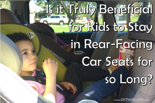 How Long Can Kids Stay Rear Facing